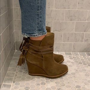 splendid leather booties